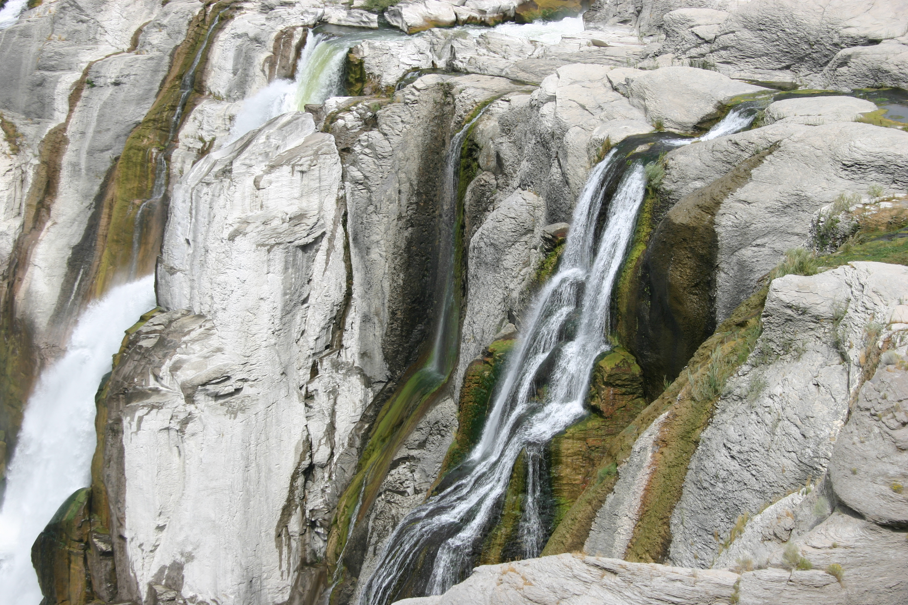 Closeup of Shoshone Falls (sometimes called the