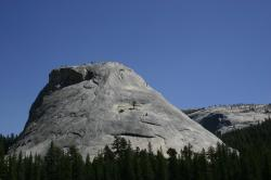 Strange and wonderful geology in the northern part of Yosemite National Park, from Hwy 120.