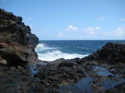 Near Nakalele Blowhole.