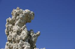 Tufa tower at Mono Lake.