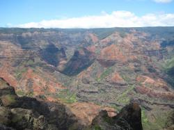 Waimea Canyon, also known as the Grand Canyon of the Pacific.