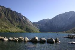 Convict Lake near Mammoth Lakes, California.