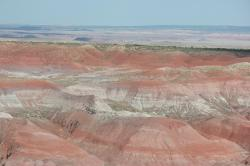 Painted Desert within the Petrified Forest National Park, Arizona.